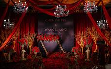 【花理派婚礼】红黑的撞色婚礼