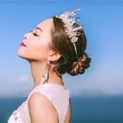 唯美新娘婚纱照