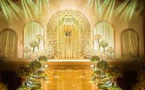 美式森系小清新婚礼布置效果图