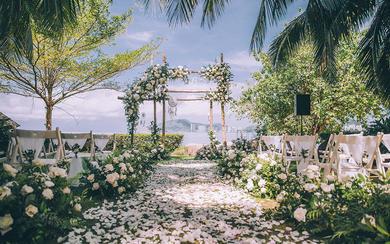 三亚草坪婚礼 | 神秘的捕梦网,带你回归自然