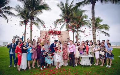 【草坪婚礼】海棠湾威斯汀爱的箴言——相爱十年
