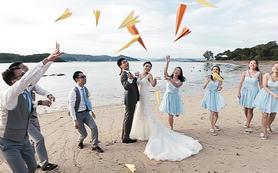 高端单反婚礼纪实拍摄服务4机位(赠摇臂,跟拍)