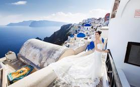 婚游记 希腊圣托里尼 8小时 婚纱摄影套系