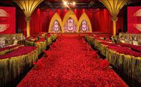 《中世纪古堡》红金复古欧式主题婚礼