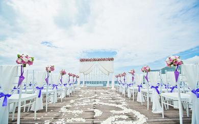 「海上平台」半山半岛洲际酒店 那片海