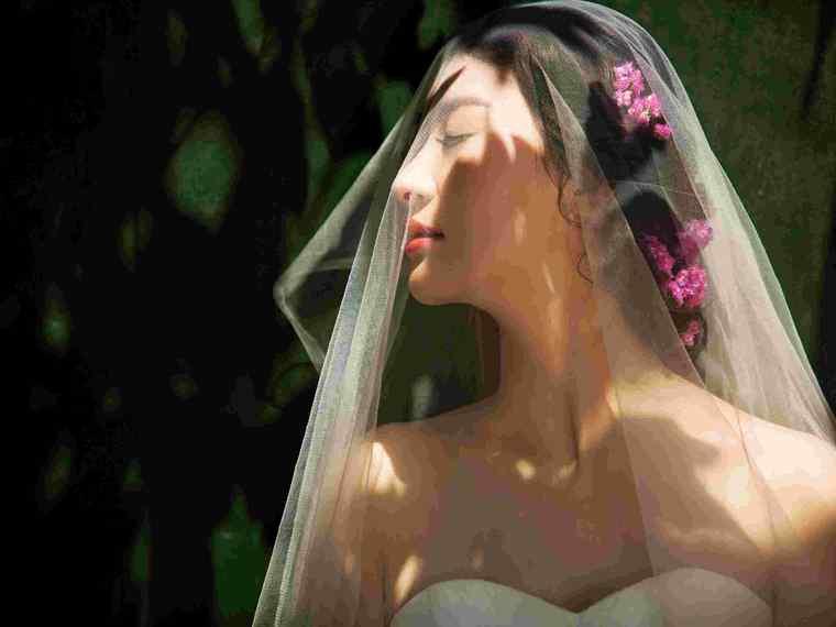 琥珀印象小清新婚纱照欣赏