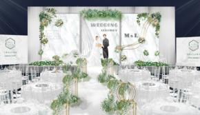 【禾朵私人婚礼定制】小型森系主题婚礼优惠套餐