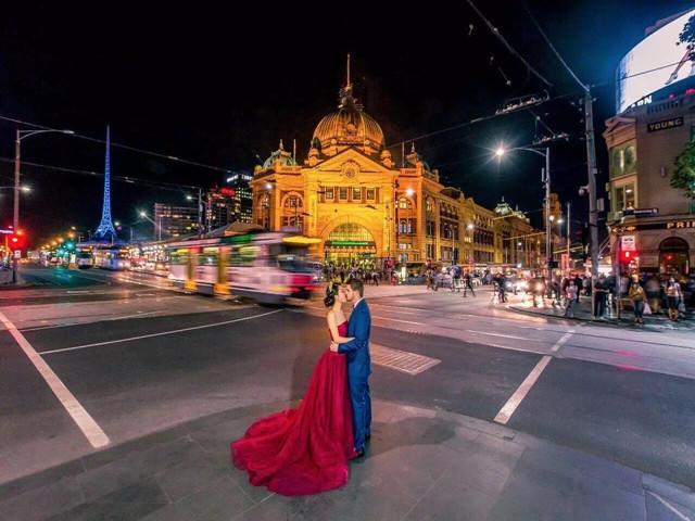 婚礼纪专享特价 澳洲墨尔本莫宁顿海滩旅拍