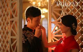 【纯色摄影】中式锦绣书香  民国特色内景主题婚照