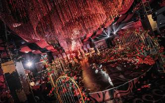 【万有引力】红黑大气创意婚礼—婚礼纪立减4万