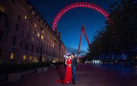 【伦敦旅拍特惠】七彩玫瑰轻奢欧洲蜜月旅拍 大本钟