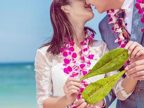 厦门旅拍韩式沙滩婚纱照