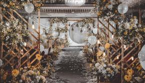 【铂尔曼婚礼】一价全包 含四大+礼服 复古仪式感
