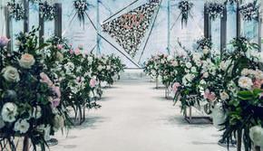 椰岛之恋|大理石风格主题婚礼