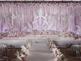 爱尚婚礼策划西式粉色系列