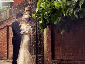 文艺街景婚纱照