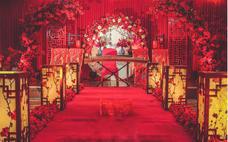 『蒂琳婚礼企划』红色中式婚礼