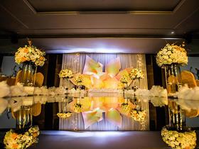 小清新婚礼布置【骑士•婚享】吉源酒店--金域缇香