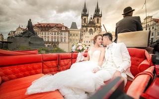 维也纳慕夏欧洲婚纱旅拍