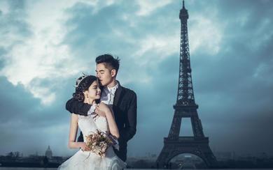 英国VM婚纱摄影欧洲旅拍-巴黎
