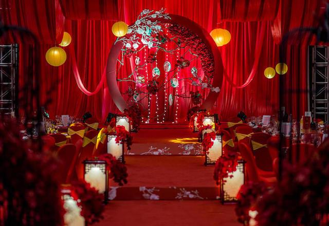 海南幸福里婚礼策划【大气中国红新中式婚礼】