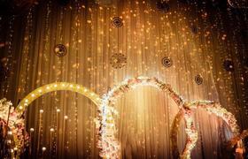【薇莳婚礼】唯美香槟金色婚礼