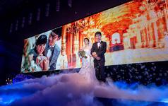 一场唯美浪漫的婚礼纪录,单机拍摄