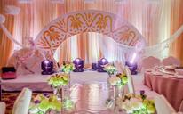 婚礼时光简约而不简单的香槟色系韩式婚礼套餐