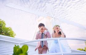 三亚海景婚纱摄影-爱情码头