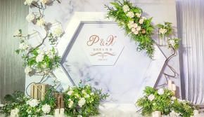 【普诺米尔婚礼】18年大热 小清新白绿