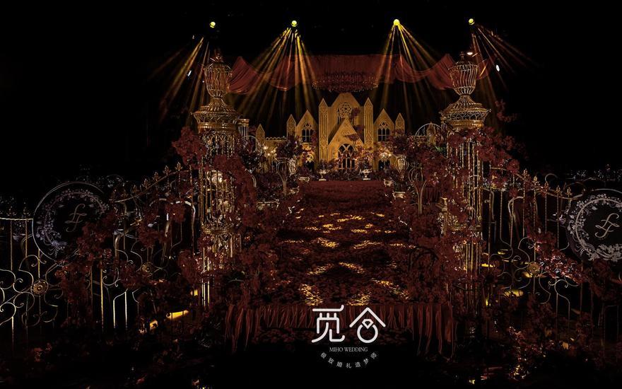 【觅合婚舍】暗黑系哥特式婚礼