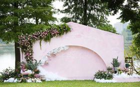 -蜜途婚礼-户外淡粉色系-