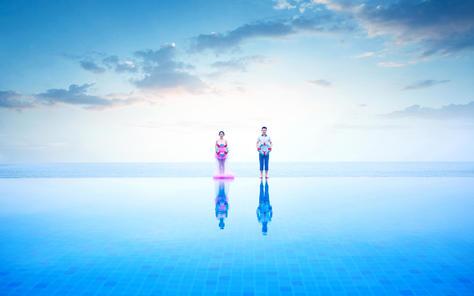 海天一线客片--三亚贝拉印象婚纱摄影海天一线客片