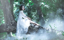 三亚原素物语旅拍个性写真《寻仙之旅》李媛