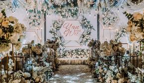 『携缘』♥白绿色韩式唯美系婚礼