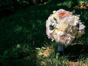 小清新绿色婚礼布置