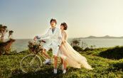 送万元婚纱+用明星产品+享总监服务 火山岛旅拍