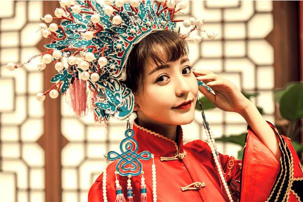 中式婚纱系列--古典美