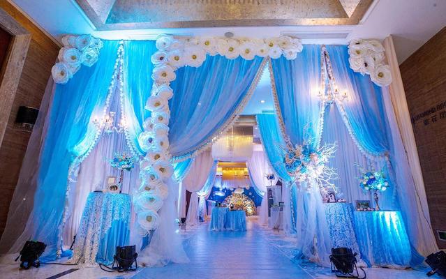 《爱 深藏Blue》主题婚礼