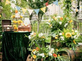 【博雅婚典】——遇见暖阳·小清新婚礼布置