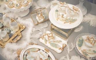 Luxurious奢华婚礼甜品台