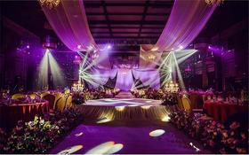 粉紫色系唯美系主题婚礼《紫因有你》