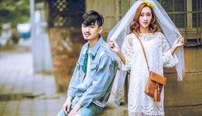 ☑新风格体验☑网红婚纱照+精修80+12服12造