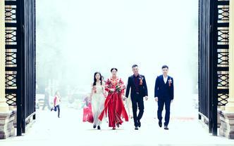 专业级婚礼跟拍单机位拍摄