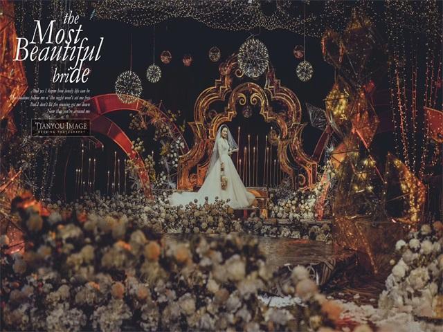 《金色年华》咖金色浪漫低奢创意婚礼