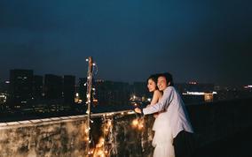 【城市旅拍】送夜景婚纱照❤底片全送❤56张精修