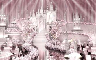 大气 高端 梦幻 浪漫 城堡 欧式 Venus