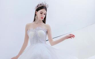 唯妮造型婚礼跟妆----总监化妆师跟妆+副画