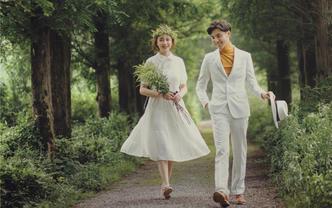 《夏日风情》森系小清新婚纱照