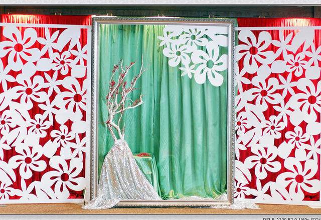 酒店宴会厅婚礼,橡树下的爱情